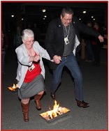 Enjoy the tradition of jumping the fires